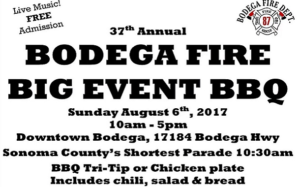 Bodega Fire Dept BBQ Event