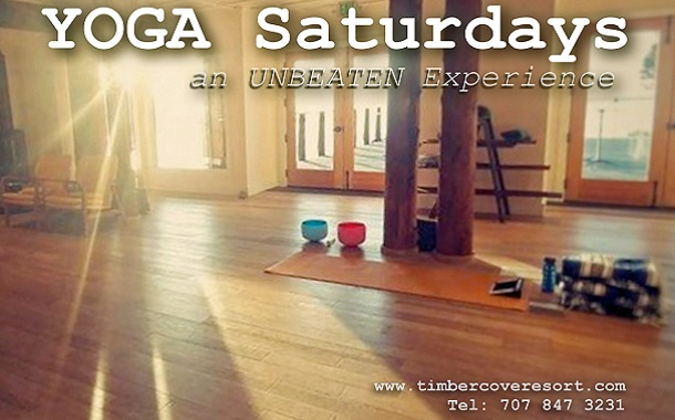 Yoga Saturdays at Timber Cove